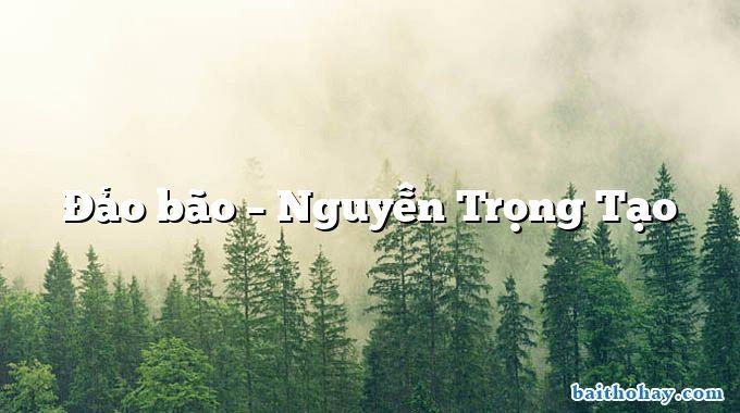 Đảo bão  –  Nguyễn Trọng Tạo