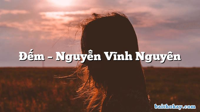 Đếm – Nguyễn Vĩnh Nguyên