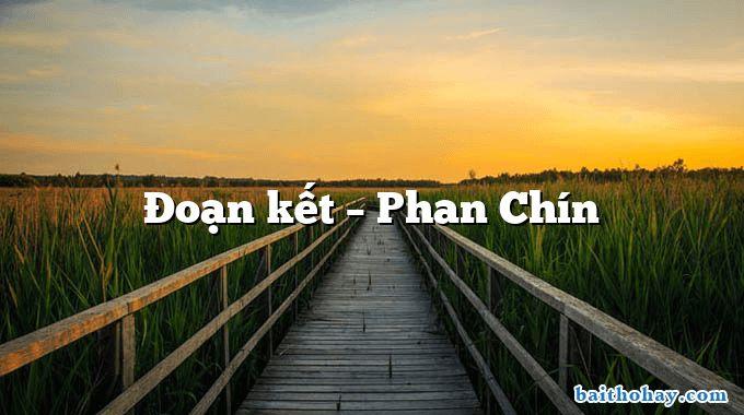 Đoạn kết  –  Phan Chín