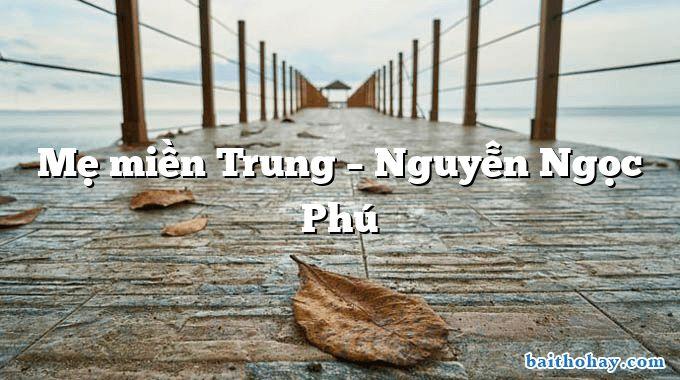 Mẹ miền Trung  –  Nguyễn Ngọc Phú
