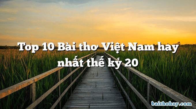 top 10 bai tho viet nam hay nhat the ky 20 - Ông đồ - Vũ Đình Liên
