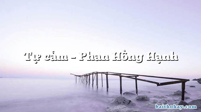 Tự cảm  –  Phan Hồng Hạnh