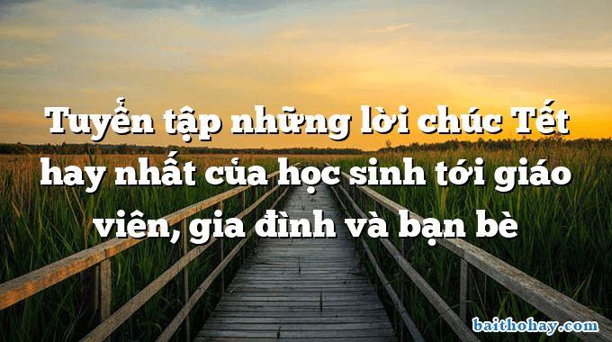 tuyen tap nhung loi chuc tet hay nhat cua hoc sinh toi giao vien gia dinh va ban be - Mẹ đi làm (Yêu mẹ) - Nguyễn Bao