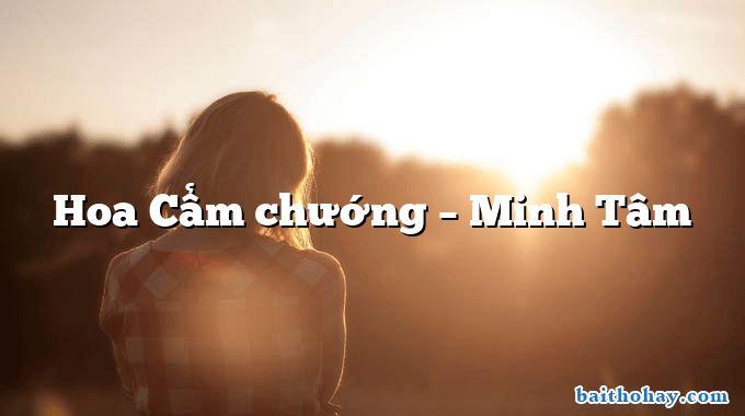 Hoa Cẩm chướng – Minh Tâm