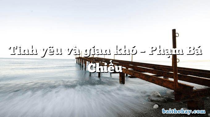 tinh yeu va gian kho pham ba chieu - Người làm công chức - Nguyễn Thanh Thanh