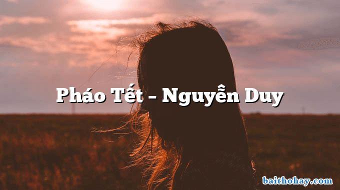 Pháo Tết  –  Nguyễn Duy